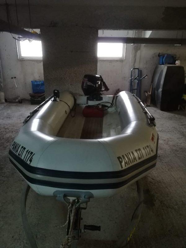 Πωλείται φουσκωτό σκάφος