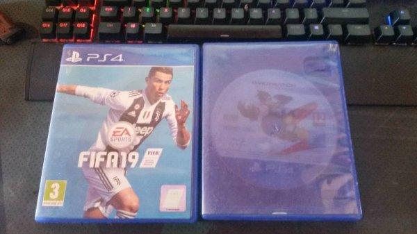 Πωλούνται PS4 παιχνίδια + 1 PS4 μοχλός παραλλαγής