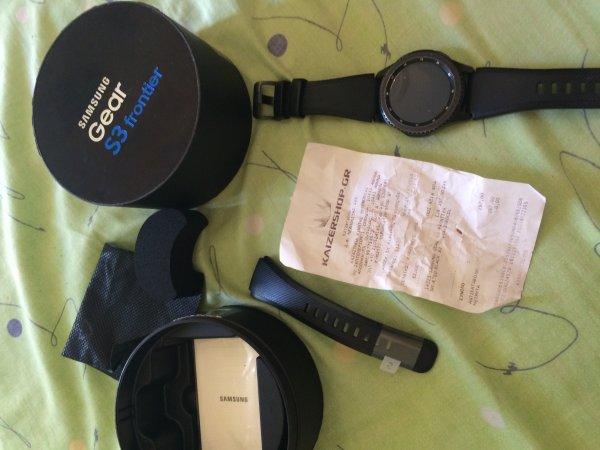 Πωλείται Samsung gear s3 frontier