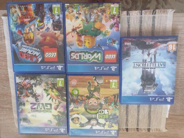 Πωλούνται παιχνίδια για PS4
