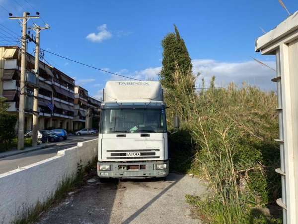 Πωλείται φορτηγό-ψυγείο Fiat Iveco