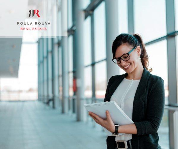 Ζητείται receptionist-υπάλληλος γραφείου από την Roula Rouva Real Estate