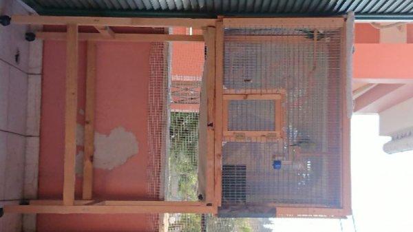 Πωλείται κλούβα για παπαγαλάκια