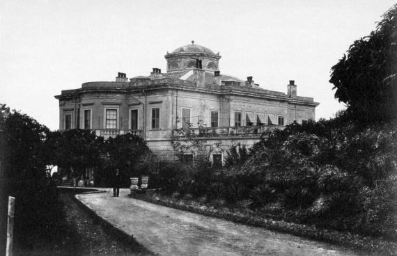 Το Μον Ρεπό σε ένα στιγμιότυπο του 1880