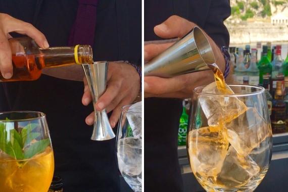Corfuland Cocktail: Ένα cocktail γεμάτο Κέρκυρα!