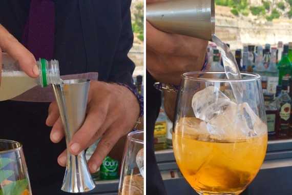 Corfuland Cocktail: Ένα cocktail γεμάτο Κέρκυρα!