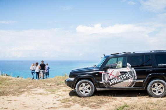 Corfuland Excursions: Εμπειρία safari με το jeep του X Adventure Club