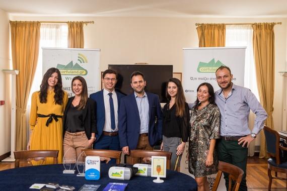 Δυνατή η παρουσία του Corfuland.gr στο 2ο συνέδριο «Corfu Tourism Αει Forum 2018»