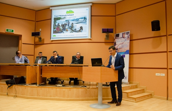 To Corfuland συμμετείχε στην εκδήλωση του YESS στo Πανεπιστήμιο Ιωαννίνων