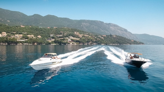 Corfuland Experience: Καλοκαιρινή απόδραση με ταχύπλοα σκάφη της NoLimitsSpeedBoats