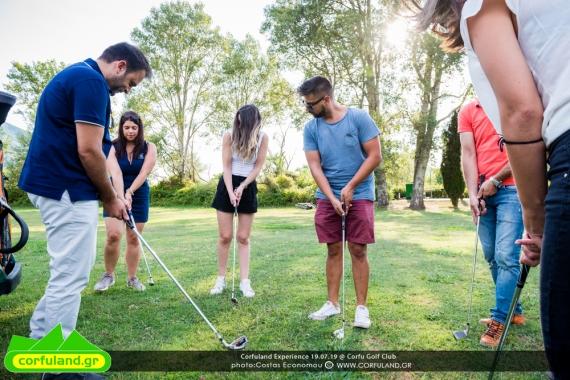 Corfuland Experience: Παιχνίδι γκολφ στο Corfu Golf Club