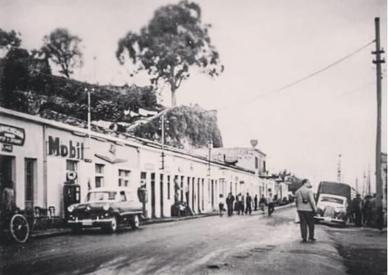 Η οδός Ελευθερίου Βενιζέλου στο παρελθόν