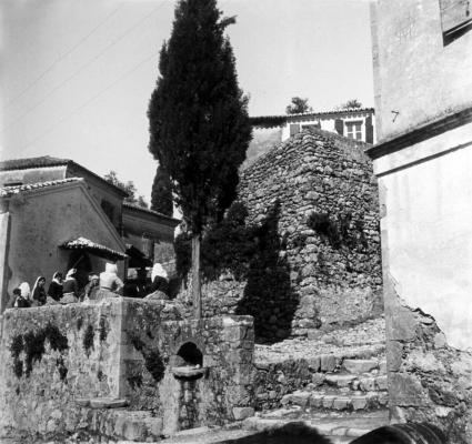 Συνοικία στο χωριό Γαστούρι εν έτει 1917