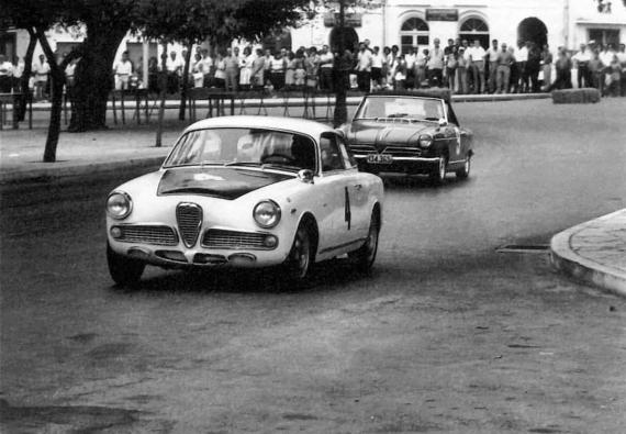 Αγώνες σιρκουΐ στη στροφή της Κοφινέτας το 1966