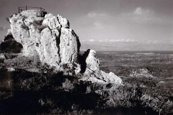 Η θέα από το παρατηρητήριο του Κάιζερ τον 20ο αιώνα