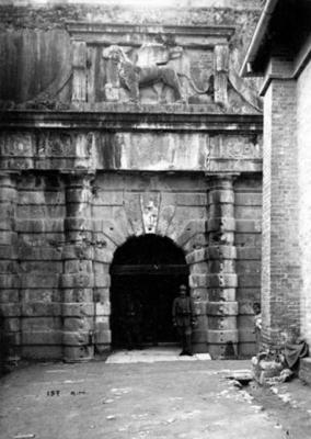 Η πύλη του Νέου Φρουρίου το 1916