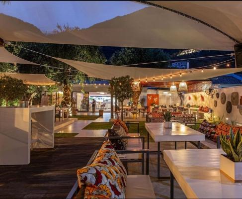 Piedra del Mar Beach bar-Restaurant: Σημείο αναφοράς για κάθε ώρα της ημέρας