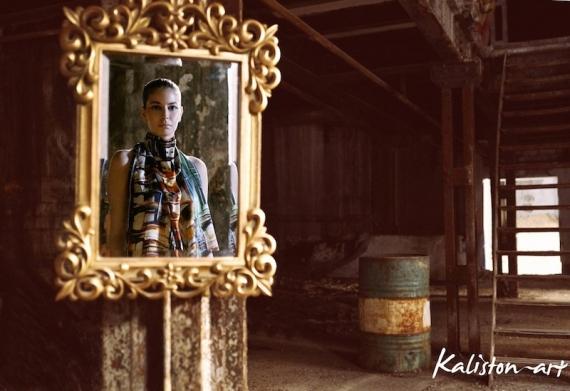 Kaliston Art: Η Ελληνική παράδοση και Τέχνη αποτυπώνονται στο μετάξι