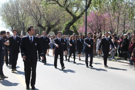 Φοιτητές του Ιονίου Πανεπιστημίου στην παρέλαση 25ης Μαρτίου μετά από χρόνια