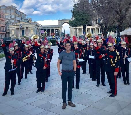 Στα καντούνια της Κέρκυρας γύρισε ο Πέτρος Ιακωβίδης το νέο του βίντεο κλιπ
