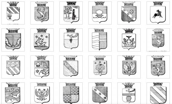 Libro d' Oro: οι ευγενείς της Κέρκυρας και τα οικόσημα