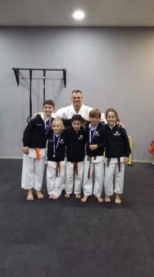 Επιτυχίες για το Σύλλογο Solar Karate στο Ολυμπιακό κέντρο πάλης Α.Λιοσίων