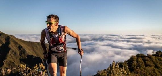 Ο Franco Colle στο Corfu Mountain Trail 2020