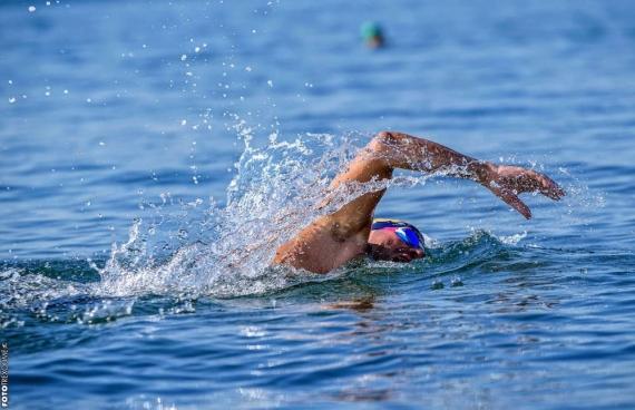 Ασημένιο μετάλλιο κολύμβησης στο Παλαιό Φάληρο ο Άκης Παγκράτης