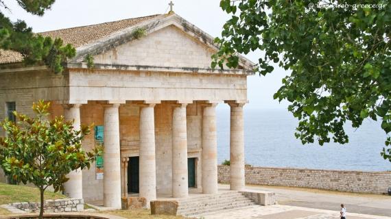 Ο Άγιος Γεώργιος στο Παλαιό Φρούριο: ο εμβληματικός ναός «κόσμημα» της Κέρκυρας