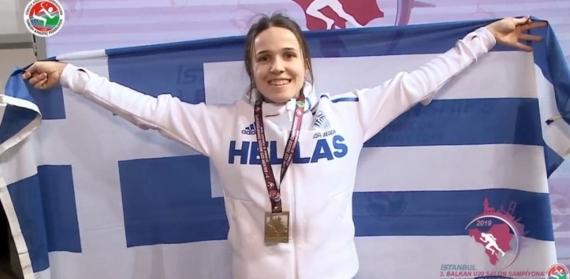 Σπυριδούλα Καρύδη: Χρυσό στο Ευρωπαϊκό Πρωτάθλημα στίβου με άλμα 14μ.
