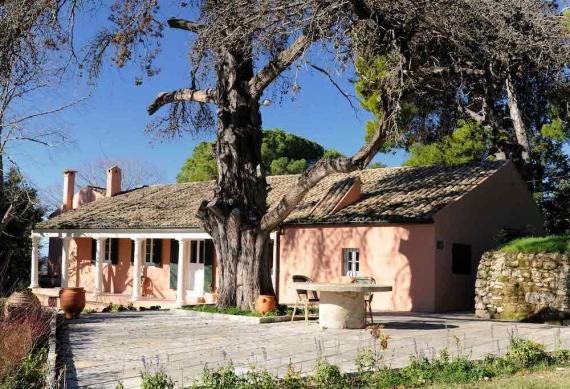 H οικία των νεανικών χρόνων του Ιωάννη Καποδίστρια στην Κουκουρίτσα