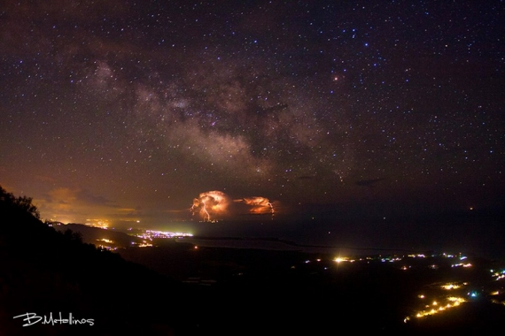 Astronomy Picture of the Day από τον Κερκυραίο Βασίλη Μεταλληνό