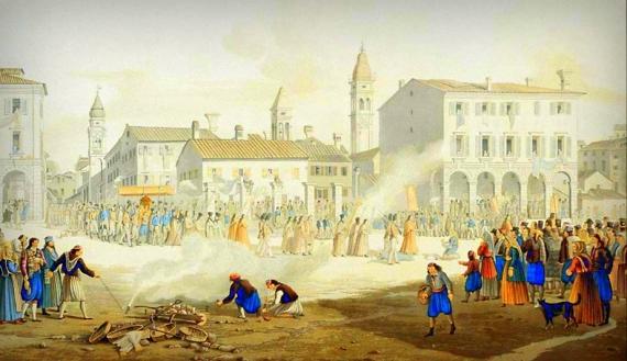 Η πανώλη στην Κέρκυρα το 1629, το πρώτο κρούσμα και τα θύματα