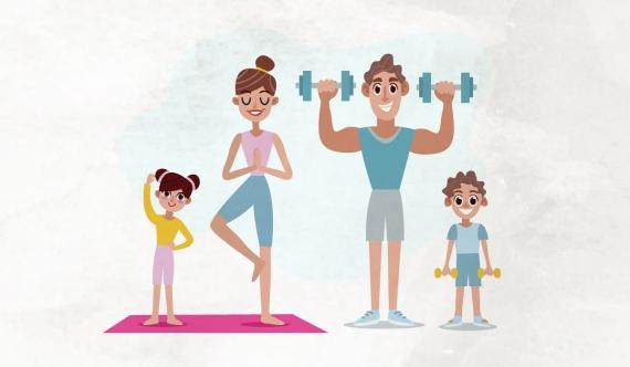 Συμβουλές για σωματική δραστηριότητα στο σπίτι