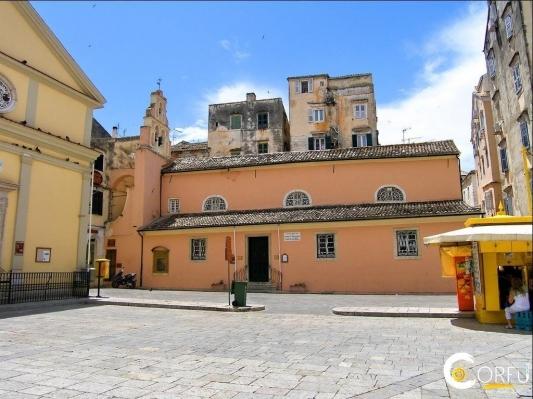 Ο ιστορικός ναός του Αγίου Ιωάννη του Προδρόμου στην παλιά πόλη