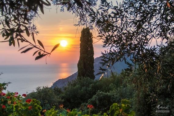 Το μαγευτικό ηλιοβασίλεμα του Πέλεκα