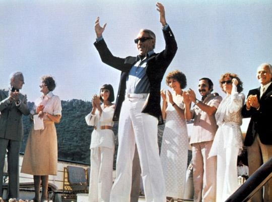 Ο Anthony Quinn στην Κουλούρα το καλοκαίρι του 1978