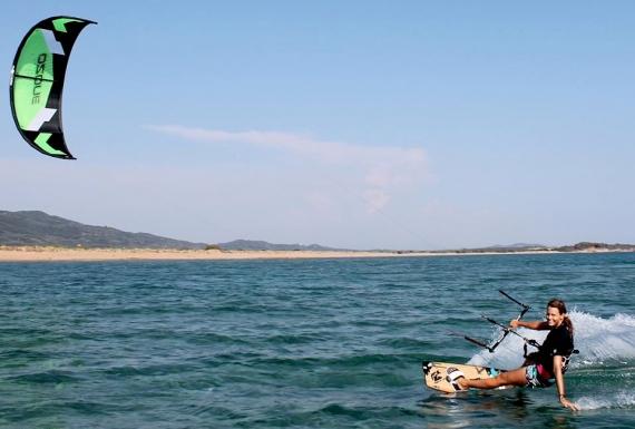 Χαλικούνας: το δημοφιλές Kite Surf spot της Κέρκυρας