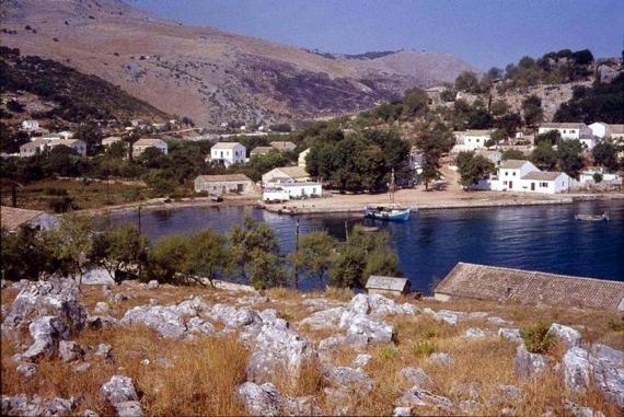 Άποψη Κασσιόπης σε ένα στιγμιότυπο του 1965