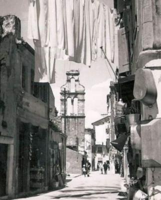 Η οδός Αγίας Σοφίας εν έτει 1960