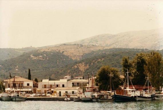 Το Λιμάνι της Κασσιόπης στο παρελθόν