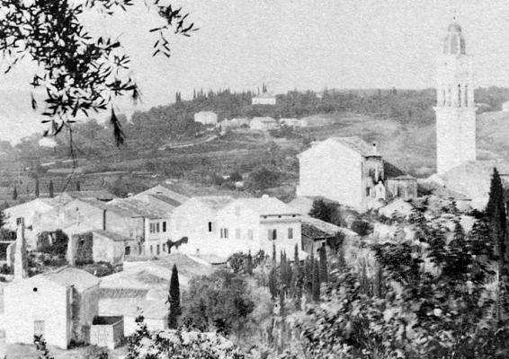 Άποψη Ποταμού σε μία φωτογραφία του 1885
