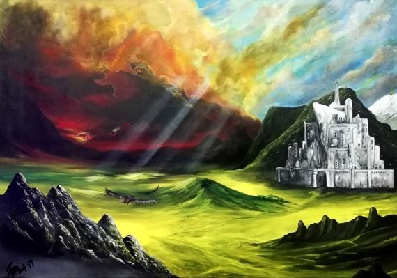 Δωρεά πίνακα ζωγραφικής στο Τμήμα Αιμοδοσίας Νοσοκομείου