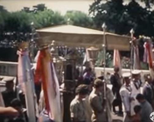 Λιτανεία του Αγίου Σπυρίδωνος και στιγμές από την Κέρκυρα το 1972