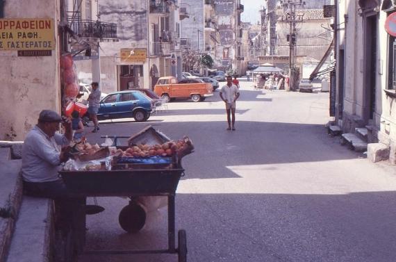 Άποψη της Αγίας Σοφίας το 1984 σε μία φωτογραφία
