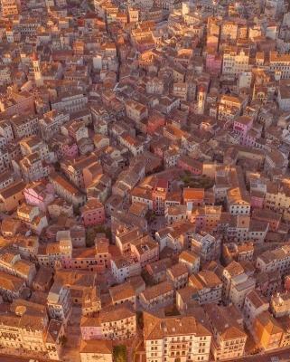 Παραμυθένια η παλιά πόλη της Κέρκυρας από ψηλά