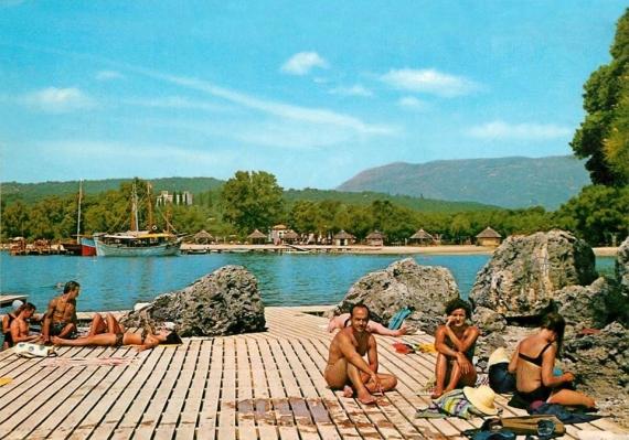 Άποψη από το άλλοτε τουριστικό θέρετρο Club Med