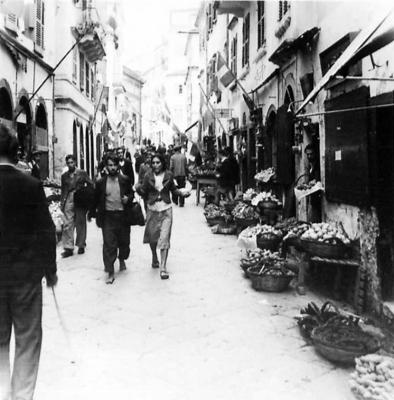 Η οδός Μιχαήλ Θεοτόκη εν έτει 1944