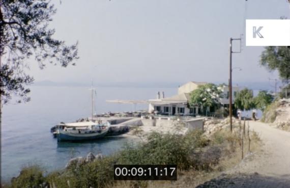Στιγμές από τη Βόρεια Κέρκυρα του 1950-60 σε ένα μοναδικό βίντεο