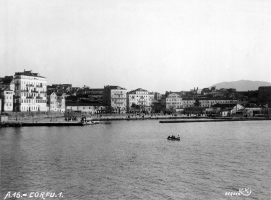 Άποψη Παλαιού Λιμανιού εν έτει 1925